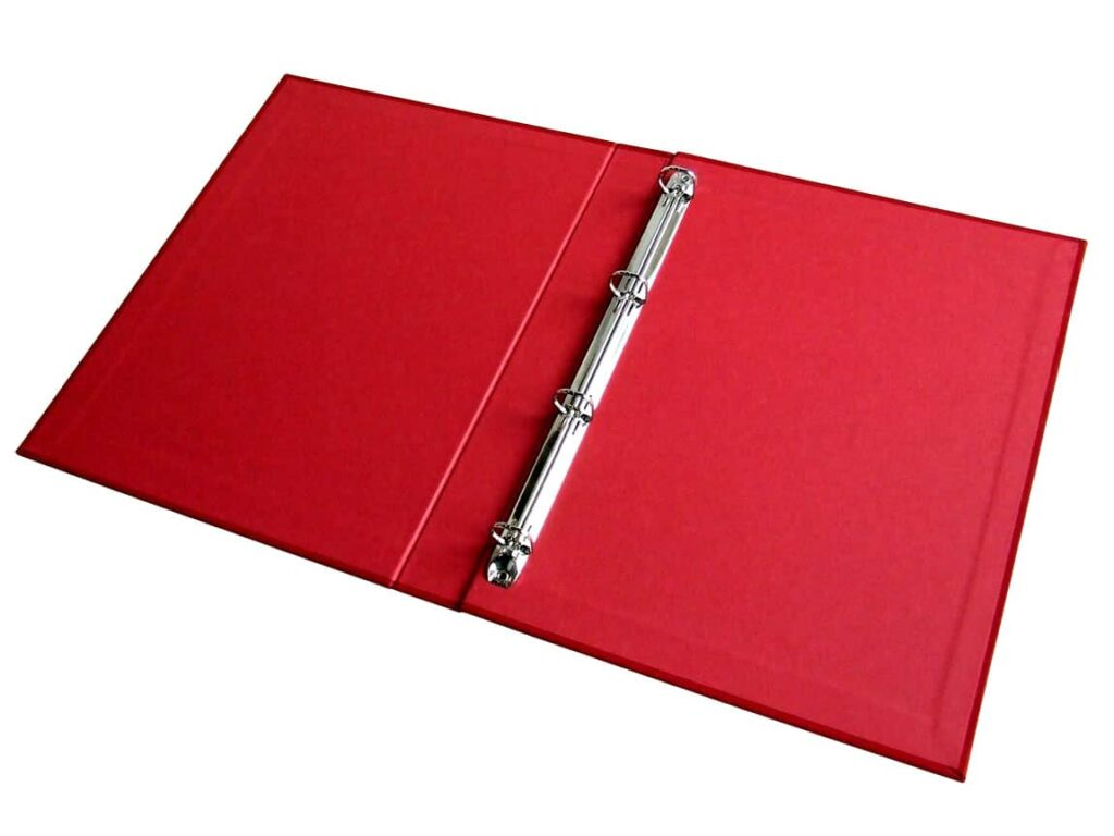 Cloth Covered Ring Binders