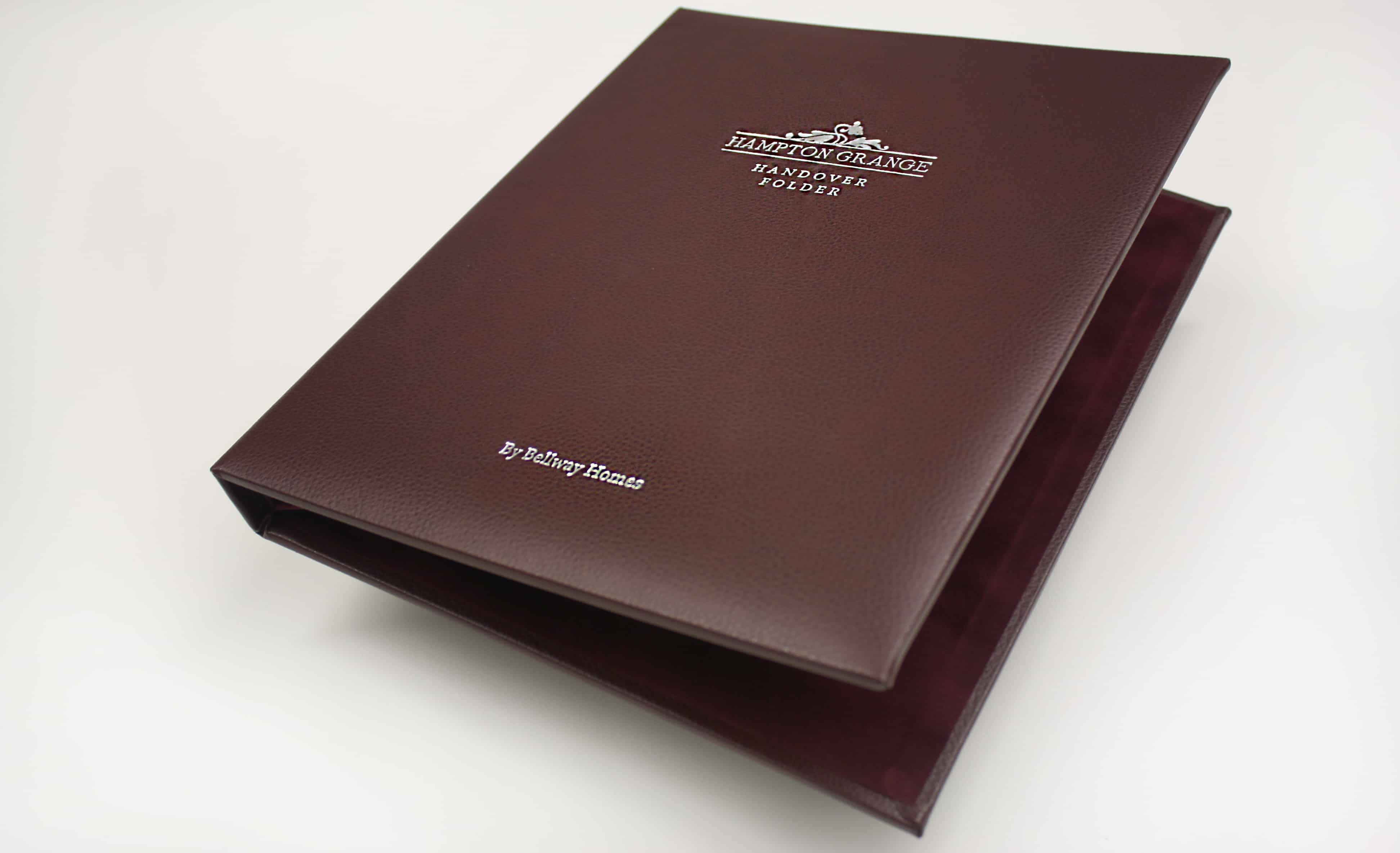 Reconstituted Leather Wiro Presentation Binder Rs