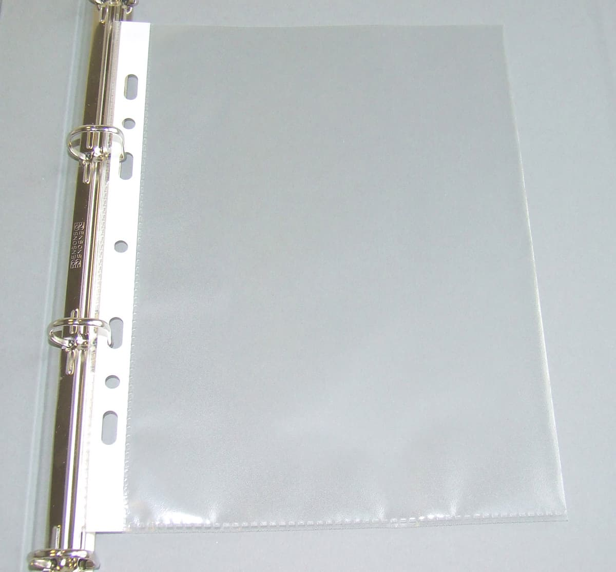 Accessories Ring Binder Pockets, A4 Portrait Example