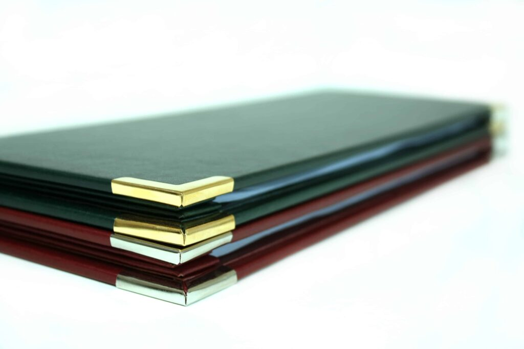 Faux Leather Ring Binder - RS Bookbinders